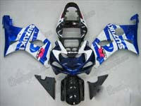Blue/White Fairing Set 9pc - Suzuki GSXR 1000 2000-2002