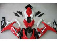 Red Fairing Set 23pc - Suzuki GSXR 600/750 2006-2007