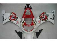 Lucky Strike Fairing Set 9pc - Suzuki GSXR 750 2000-2003