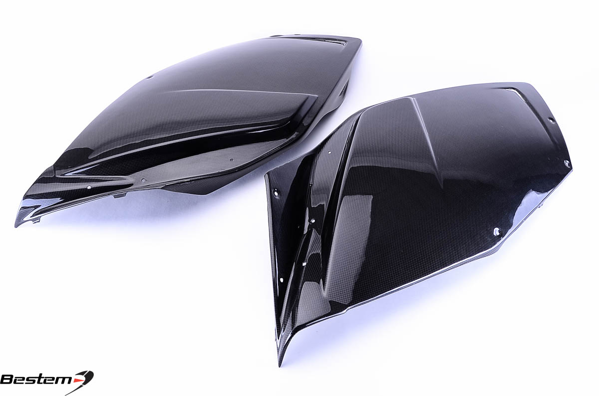 Bestem BMW K1200S Carbon Fiber Side Panels ,100%