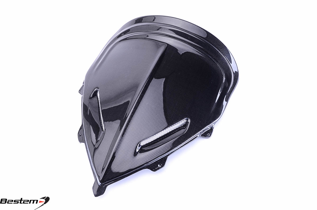Bestem BMW K1200S K1300S Carbon Fiber Windscreen ,100%