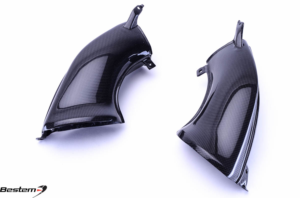 Bestem Yamaha YZF R1 2007 - 2008 Carbon Fiber Air Intake Dash Covers
