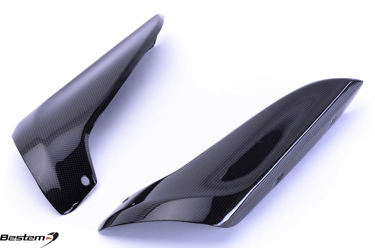 Bestem Yamaha YZF R1 2007 - 2008 Carbon Fiber Upper Heat Shield Cover