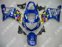 ZXMT Blue Movistar ABS Fairing Set 9pc - Suzuki GSXR 600/750 2000-2003