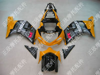 ZXMT Orange/Black ABS Fairing Set 9pc - Suzuki GSXR 600/750 2000-2003