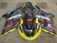 ZXMT Black/Yellow ABS Fairing Set 9pc - Suzuki GSXR 600/750 2000-2003