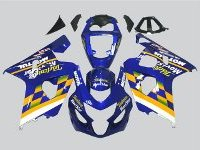 ZXMT Blue Movistar ABS Fairing Set 10pc - Suzuki GSXR 600/750 2004-2005