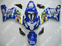 ZXMT Blue ABS Fairing Set 10pc - Suzuki GSXR 600/750 2004-2005