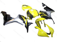 Black/Yellow Full Fairing Set 26pc - Honda CBR600RR 2009-2012