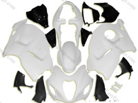 Unpainted ABS Fairing Set 19pc - Suzuki GSXR 1300 Hayabusa 1999-2007