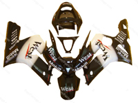 West Fairing Set 16pc - Kawasaki ZX-6R 2003-2004
