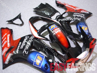Playstation Fairing Set 16pc - Kawasaki ZX-6R 2003-2004