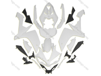 Unpainted ABS Fairing Set 26pc - Yamaha R1 2007-2008
