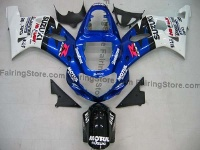 Type 14 ABS Fairing Set 9pc - Suzuki GSXR 600/750 2001-2003