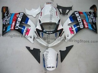 Type 13 ABS Fairing Set 9pc - Suzuki GSXR 600/750 2001-2003