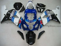 Type 13 ABS Fairing Set 10pc - Suzuki GSXR 600/750 2004-2005