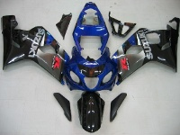 Type 10 ABS Fairing Set 10pc - Suzuki GSXR 600/750 2004-2005