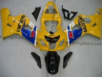 Type 9 ABS Fairing Set 10pc - Suzuki GSXR 600/750 2004-2005