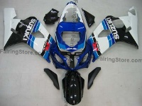 Type 8 ABS Fairing Set 10pc - Suzuki GSXR 600/750 2004-2005