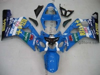 Type 7 ABS Fairing Set 10pc - Suzuki GSXR 600/750 2004-2005