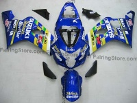 Type 3 ABS Fairing Set 10pc - Suzuki GSXR 600/750 2004-2005