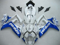Blue/White Jordan ABS Fairing Set 23pc - Suzuki GSXR 600/750 2006-2007