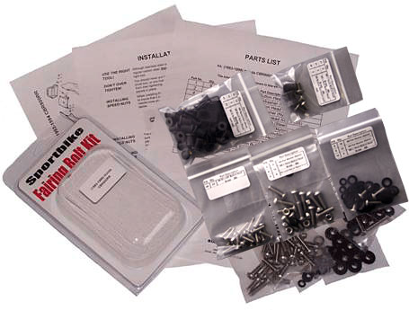 Easy Fairings 98-01 Honda VFR800 Complete Fairing Fastener Kit