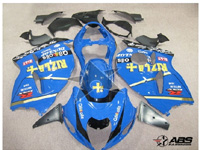 ABS Fairings Classic Rizla 19pc Fairing Set - Suzuki Hayabusa 1300RR 1997-2007
