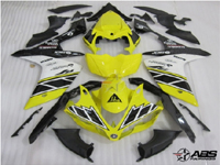 Black & Yellow ABS 26pc Fairing Set - Yamaha YZF-R1 2007-2008