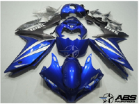 Blue & Black ABS 26pc Fairing Set - Yamaha YZF-R1 2007-2008