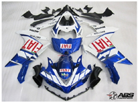 Fiat Racing ABS 26pc Fairing Set - Yamaha YZF-R1 2007-2008