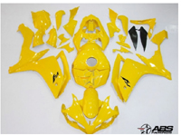 All Yellow ABS 26pc Fairing Set - Yamaha YZF-R1 2007-2008