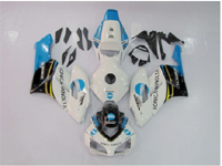 ABS Fairings Baby Blue Konica Minolta 21pc Fairing Set - Honda CBR1000RR 2004-2005