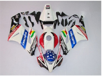 Eurobet Racing ABS 21pc Fairing Set - Honda CBR1000RR 2004-2005