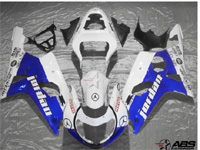 Blue Jordan ABS 9pc Fairing Set - Suzuki GSXR1000 2000-2002