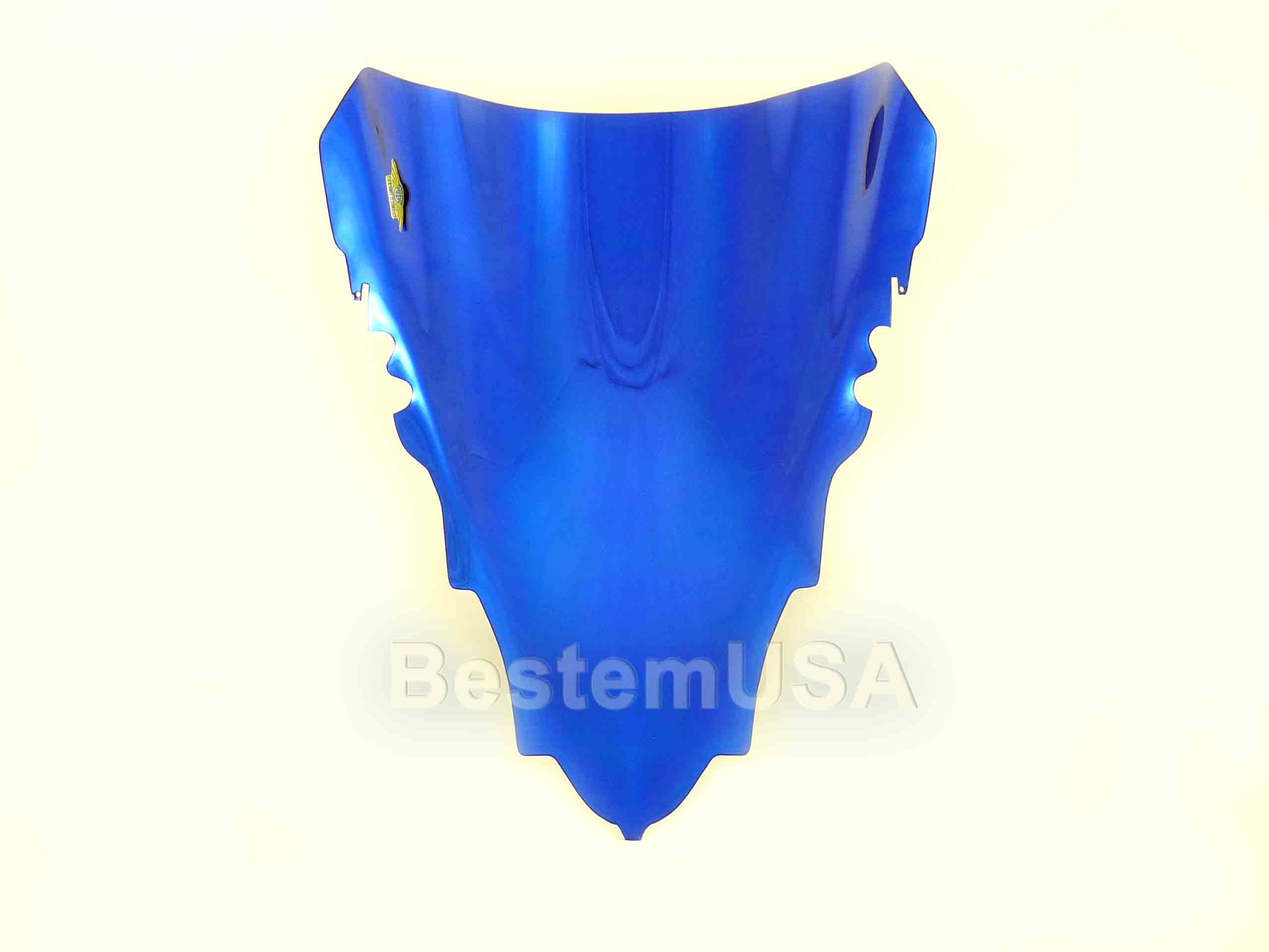 Bestem Yamaha R1 07-08,Chrome Blue Windshield