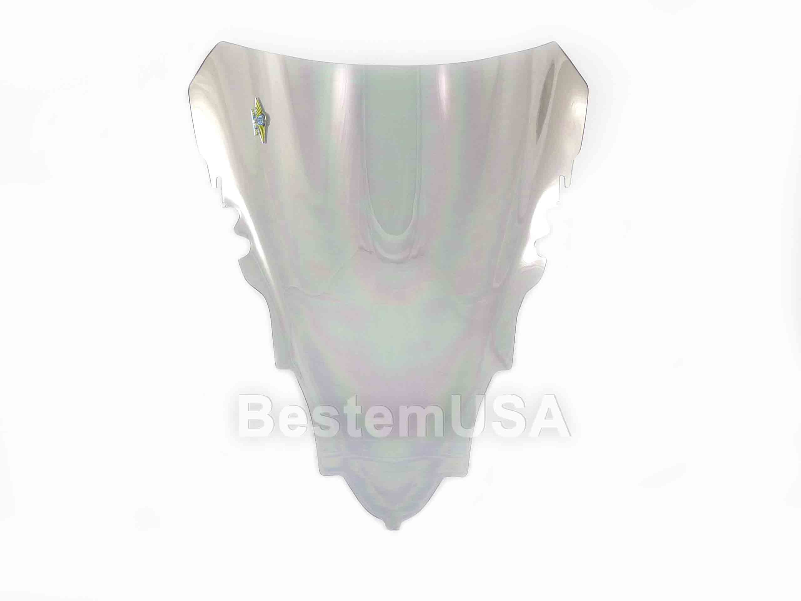 Bestem Yamaha R1 07-08 Chrome Silver Windshield