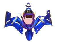 Blue ABS Fairing Set 7pc - Suzuki ZX6R 2003-2004