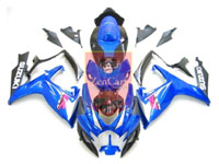 Blue/Black ABS Fairing Set 23pc - Suzuki GSXR600/750 2006-2007