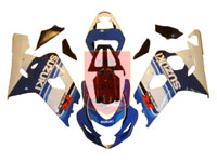 Blue/White ABS Fairing Set 10pc - Suzuki GSXR600/750 2004-2005