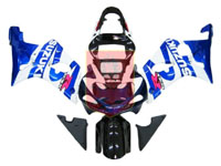 Blue/White/Black ABS Fairing Set 9pc - Suzuki GSXR1000 2000-2002