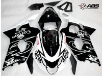 Black Corona Extra ABS 9pc Fairing Set - Suzuki GSXR 600/750 2004-2005
