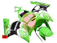 Light Green Nakano ABS Fairing Set 7pc - Kawasaki ZX6R 2003-2004