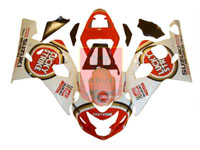 Lucky Strike ABS Fairing Set 10pc - Suzuki GSXR600/750 2004-2005