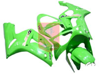 Pear Green ABS Fairing Set 7pc - Kawasaki ZX6R 2003-2004