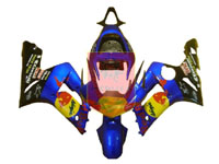 Red Bull ABS Fairing Set 7pc - Kawasaki ZX6R 2003-2004