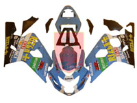 Rizla ABS Fairing Set 10pc - Suzuki GSXR600/750 2004-2005