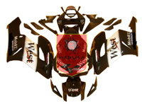 Aftermarket West ABS Fairing Set 19pc - Honda CBR1000RR 2004-2005***No Honda Logos***