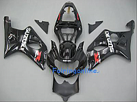 Suzuki GSXR 1000 2000-2002 ABS Fairing Set - Black