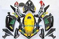 Monster ABS Fairing Set - Yamaha R1 2007-2008